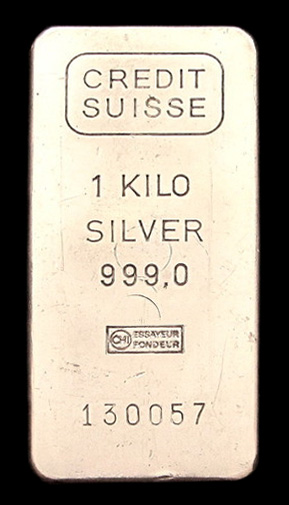 248 Credit Suisse Silver Bars Silver Bullion Bars Buying