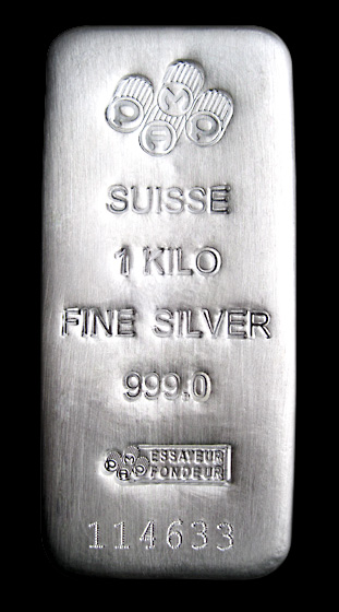 Pamp Suisse Silver Bar
