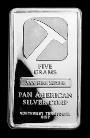248 Pan American Silver Bars Silver Bullion Bars Buying