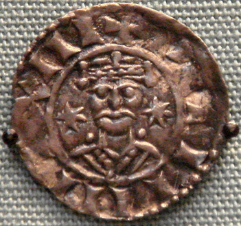 william I silver penny