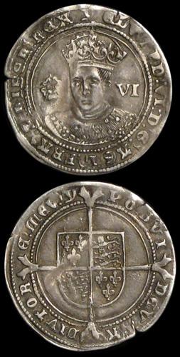 Edward VI Sixpence