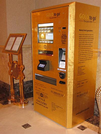 Gold Bar Vending Machine