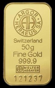 Heraeus Gold Bar