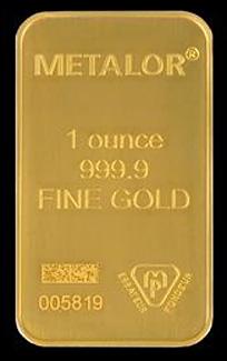 Metalor Gold Bar