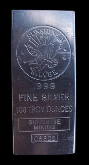 Sunshine Silver Bar