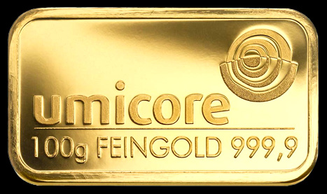 Umicore Gold Bar